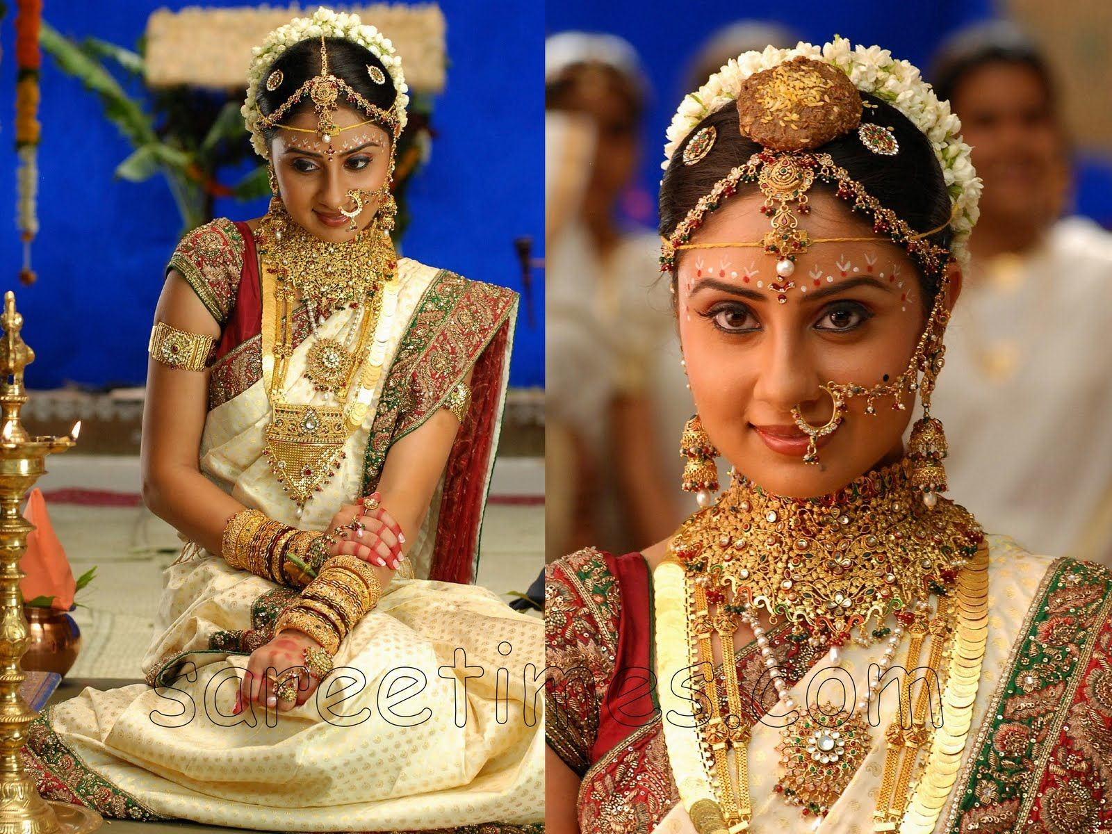 South Indian Wedding Saree