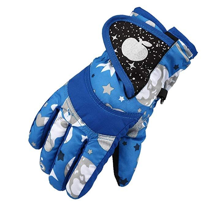 Skiing & Snowboarding Wild Snow Childrens Winter Windproof Waterproof Warm Gloves Outdoor Warm Ski Gloves Traveling
