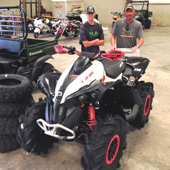 Thanks to dustin and mike zeigler from mccomb ms for getting a thanks to dustin and mike zeigler from mccomb ms for getting a 2016 can am renegade fandeluxe Image collections