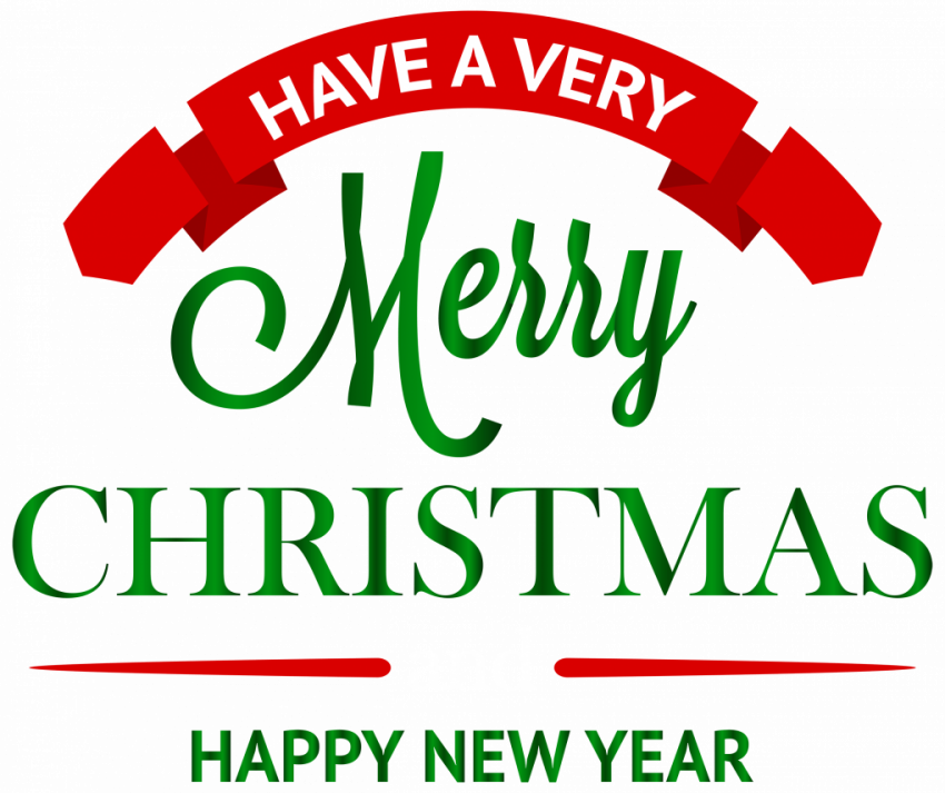 Merry Christmas Day Text PNG HD Transparent (2) Merry