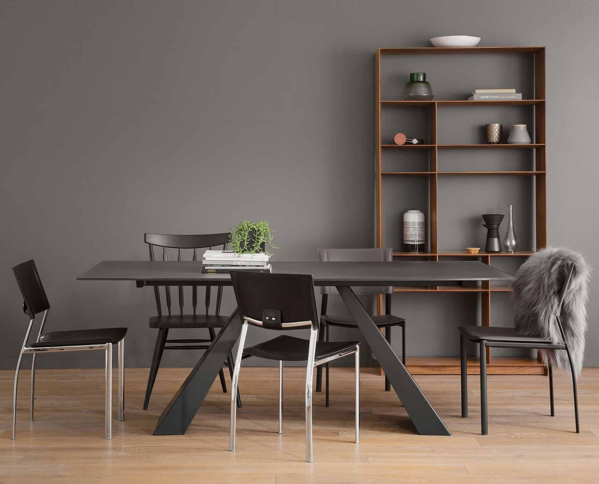 Gunnar 78 Dining Table Modern Dining Room Dining Room