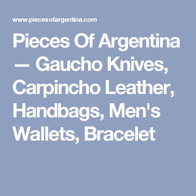 ac7c7c0a4d55 Pieces Of Argentina — Gaucho Knives