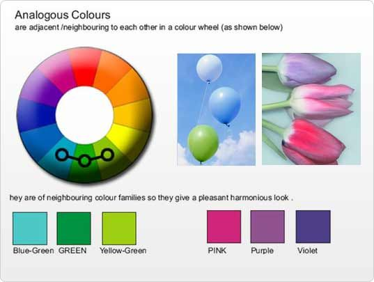 Analogous Colors Colours Color Wheel Color