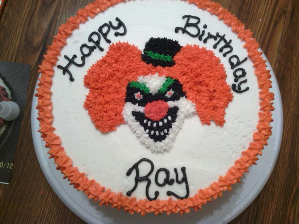 Cool Scary Clown Cake Clown Cake Scary Cakes Special Cake Funny Birthday Cards Online Inifofree Goldxyz