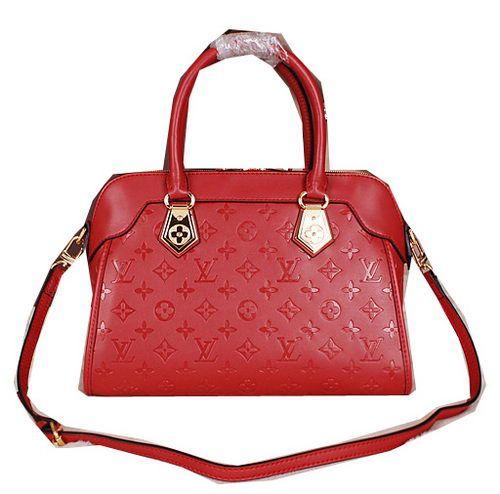 Louis Vuitton Monogram Empreinte Tote Bag M41809 Red - $219.00