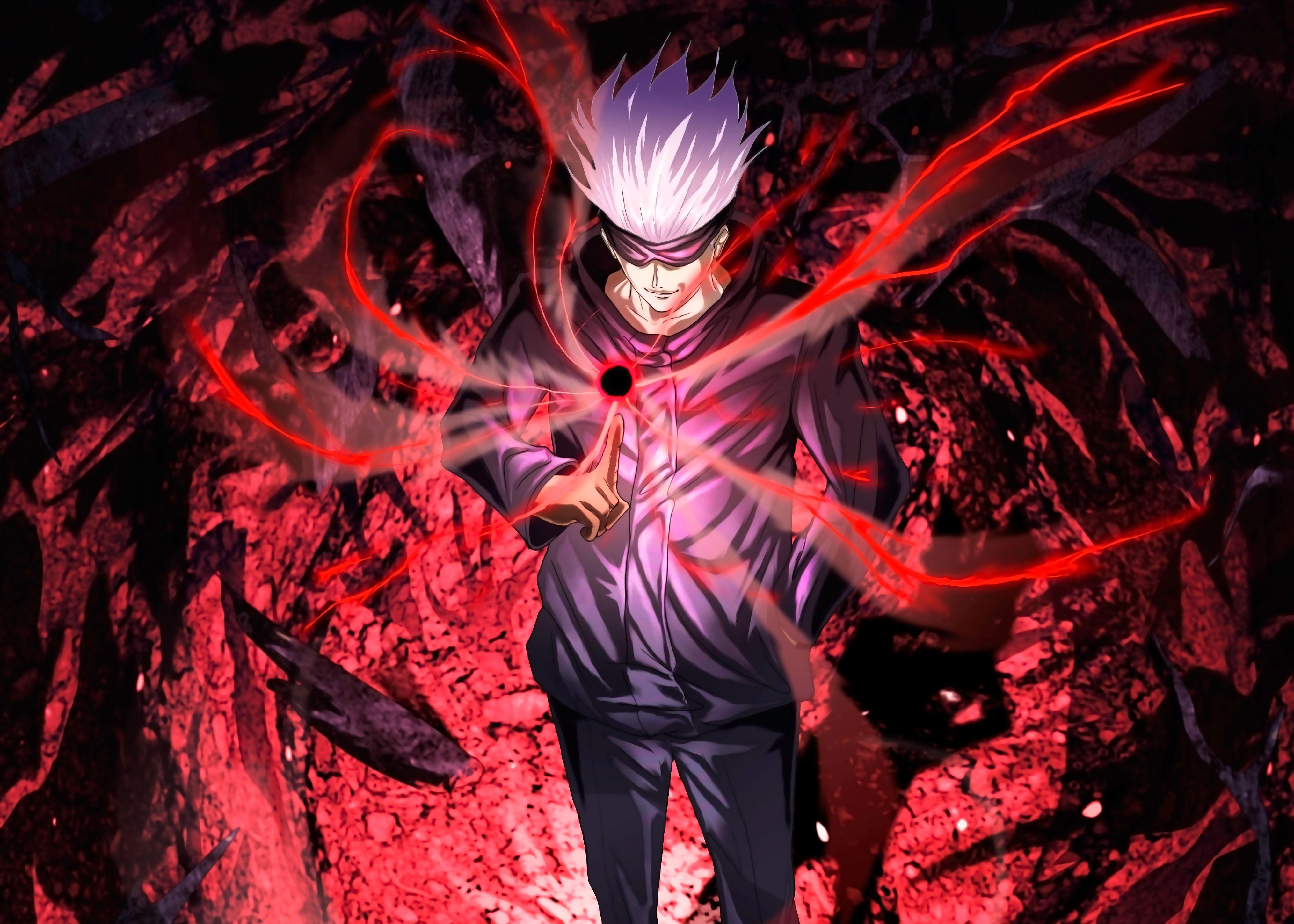 Jujutsu Kaisen Gojo Canvas Print By Terpres In 2021 Jujutsu Anime Anime Wallpaper