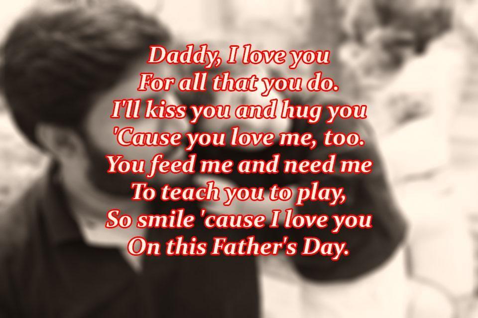 Fatheru0027s Day Poems 2017