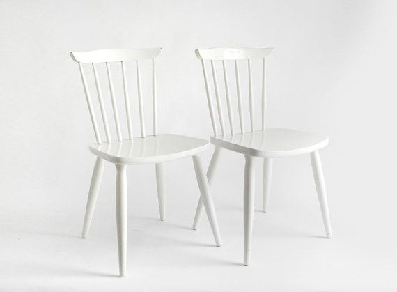 White Kitchen Chairs  For The Home  Pinterest  White Kitchen Interesting White Kitchen Chairs Decorating Inspiration