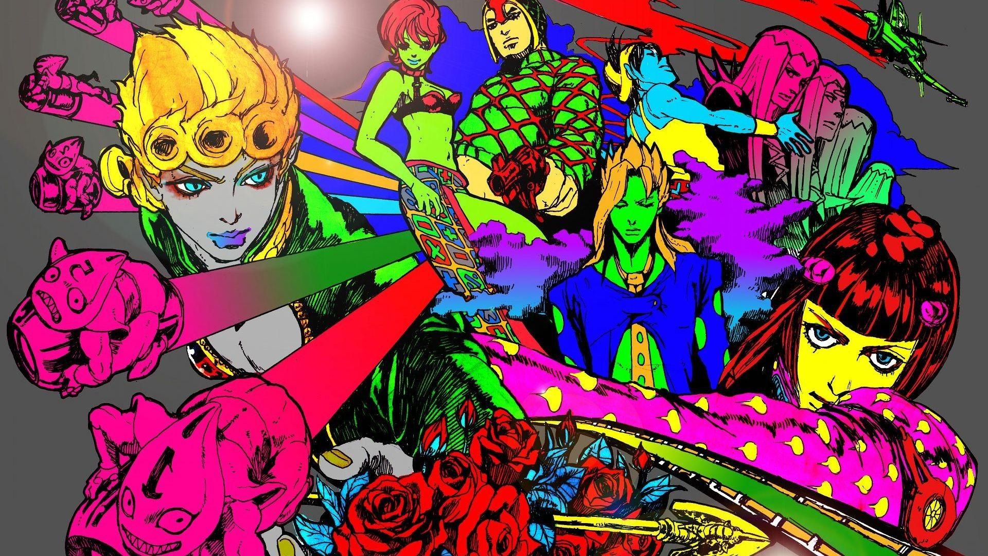 1920x1080 Jojo S Bizarre Adventure Wallpaper 8760 Jojo S Bizarre Adventure Jojo Bizarre Anime