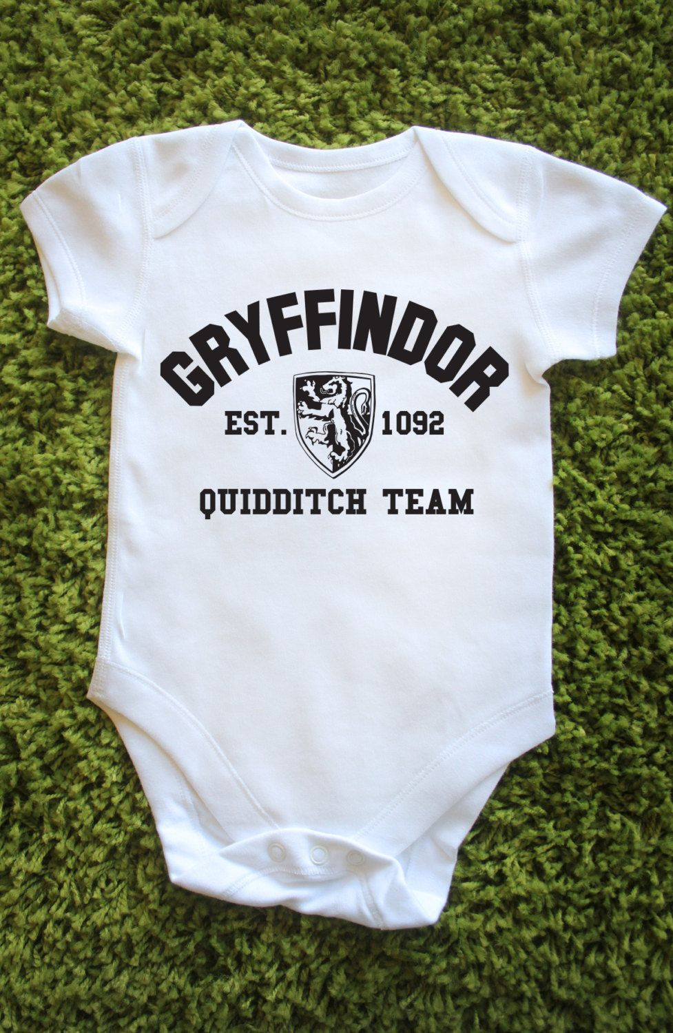 6339798ea Harry Potter Gryffindor House Baby   Baby   Baby, Baby grows, Baby vest