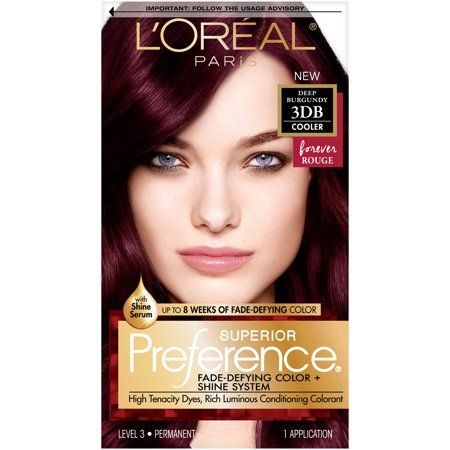 Loreal Paris Superior Preference Fade Defying Color 3db