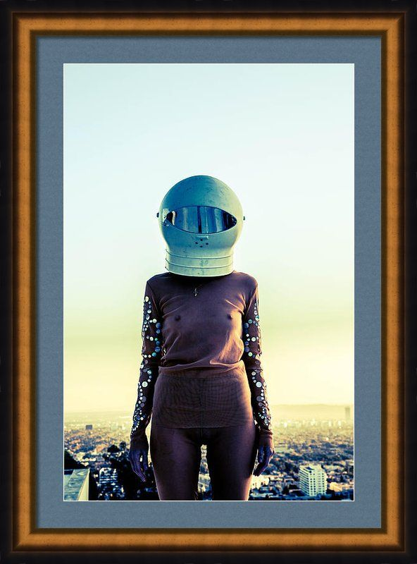 Space Framed Print By Maria  Lankina FENIZ.co ICONICFOTO.com  MARIALANKINA.com  #futuristic #space