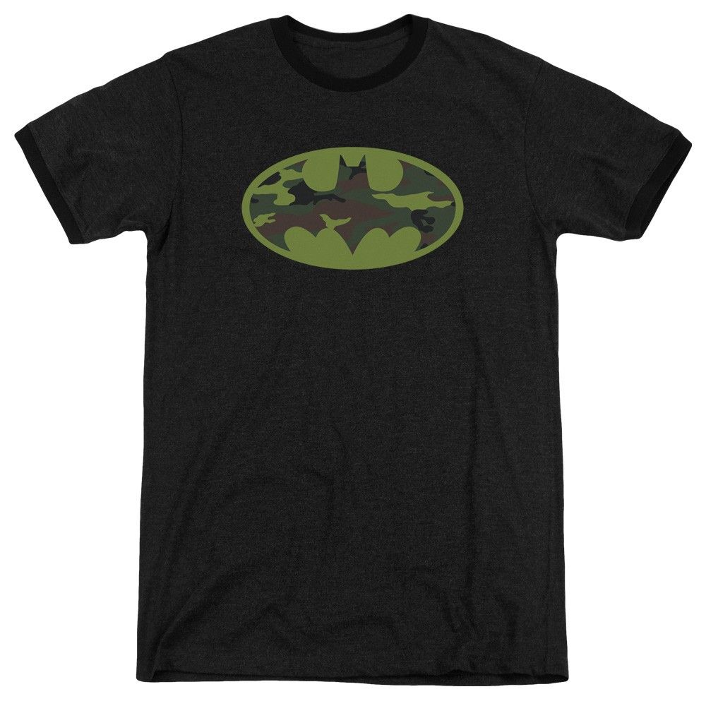 "Checkout our #LicensedGear products FREE SHIPPING + 10% OFF Coupon Code ""Official"" Batman / Camo Logo - Adult Heather Ringer - Batman / Camo Logo - Adult Heather Ringer - Price: $34.99. Buy now at https://officiallylicensedgear.com/batman-camo-logo-adult-heather-ringer"