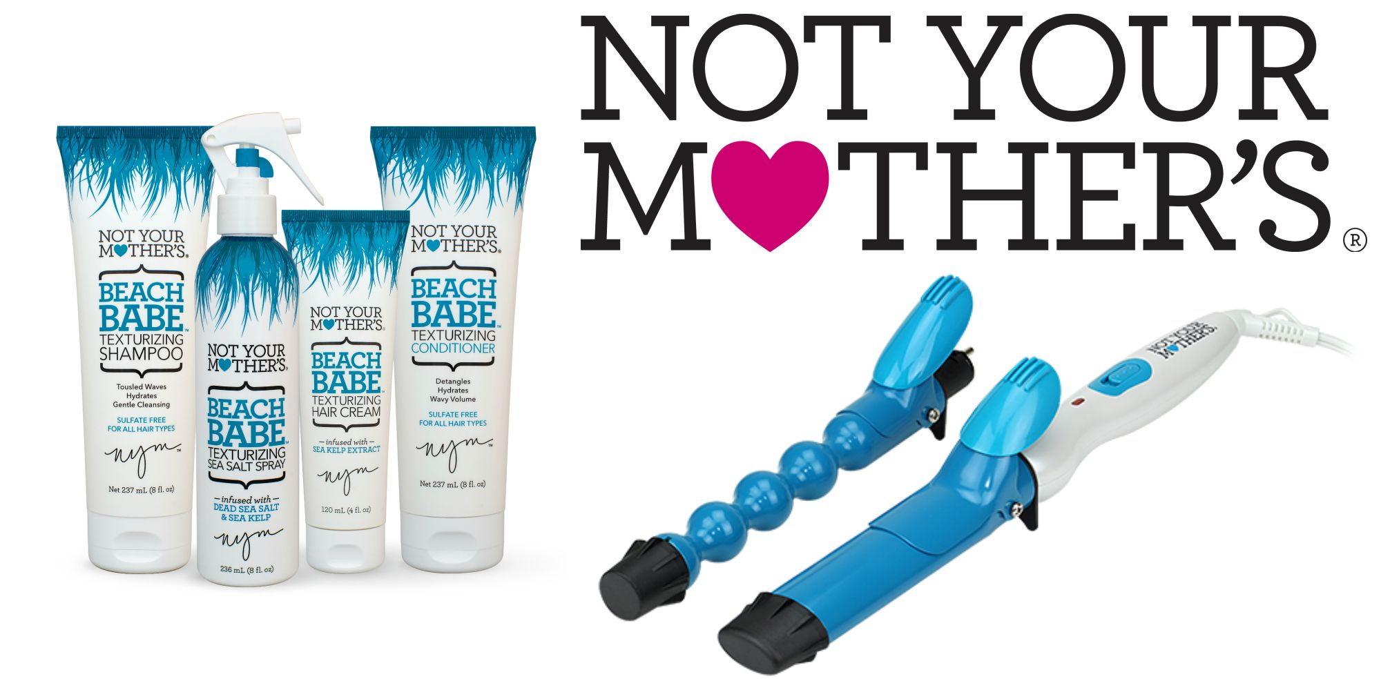 Not Your Mother's Beach Babe products and tool