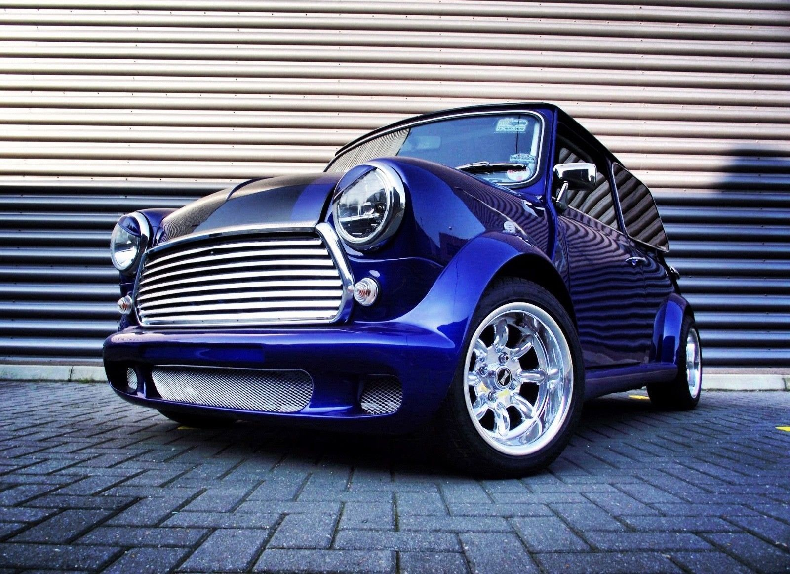 eBay ROVER CLASSIC MINI 30 1293 SUPERCHARGED SHOW CAR
