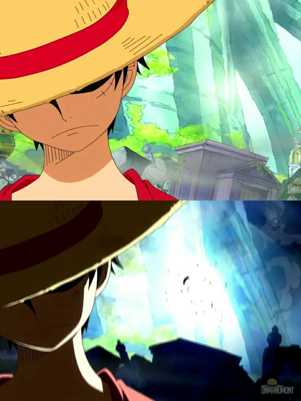 Monkey D Luffy Explosion Cool Angry One Piece Photo