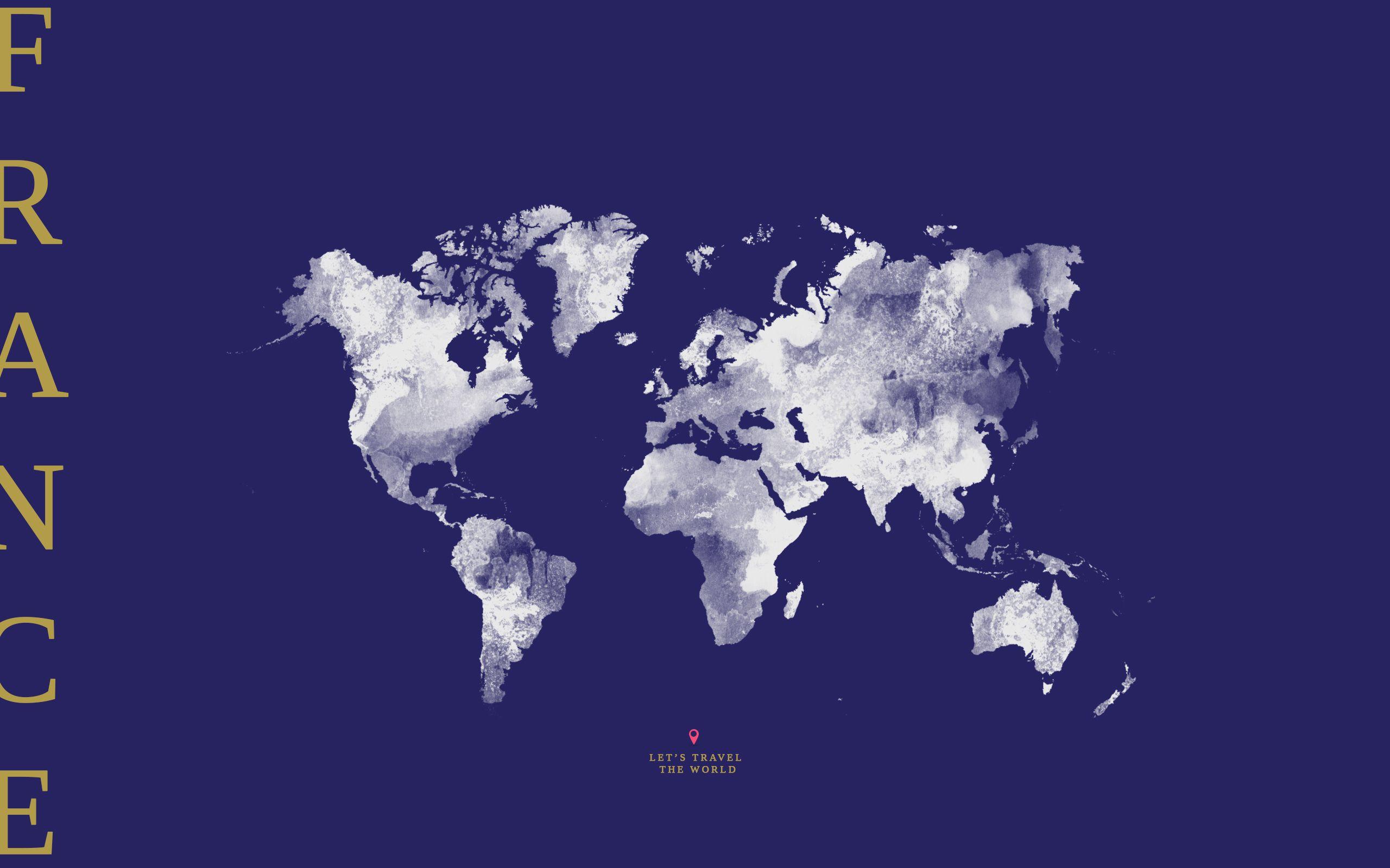 Design france map world color wallpaper design pinterest black grey world map new york desktop wallpaper background gumiabroncs Images