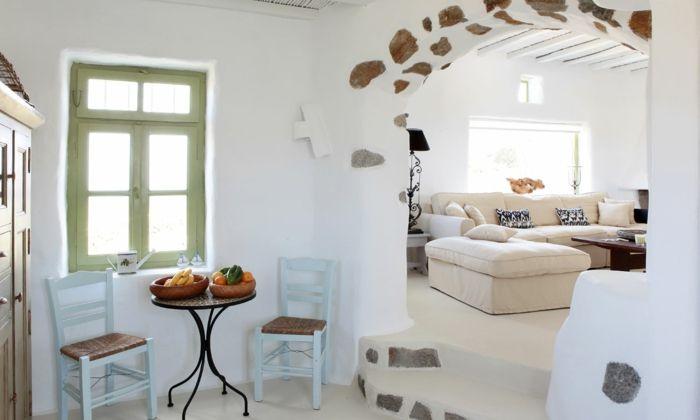 ▷ 1001+ photos inspirantes pour une décoration grecque   Canapé ...