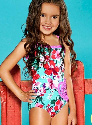 girls swimwear | Little Ones | Pinterest