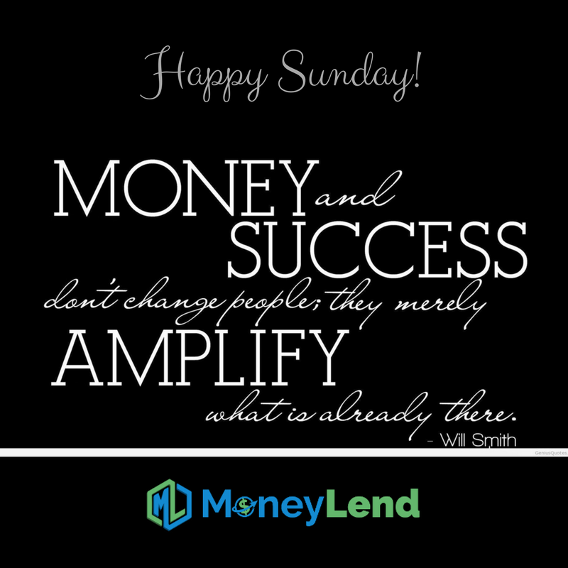 Money and success merely amplifies what is already there.