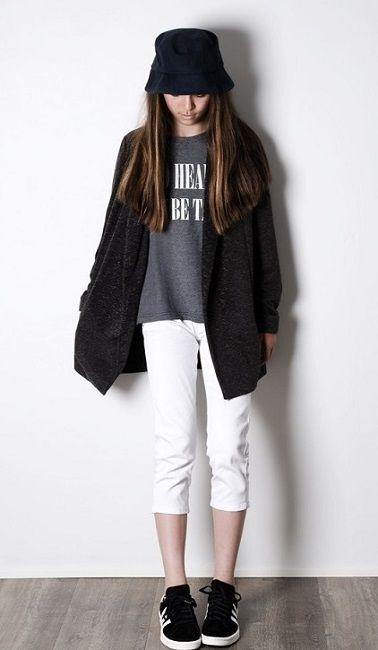 Stoere Kinderkleding.Stoere Hippe Meidenkleding Van Grunt Stoere Kinderkleding White