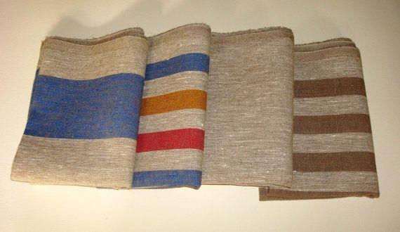Linen  towel  bath  linen massage towel SPA by LinenWoolRainbow