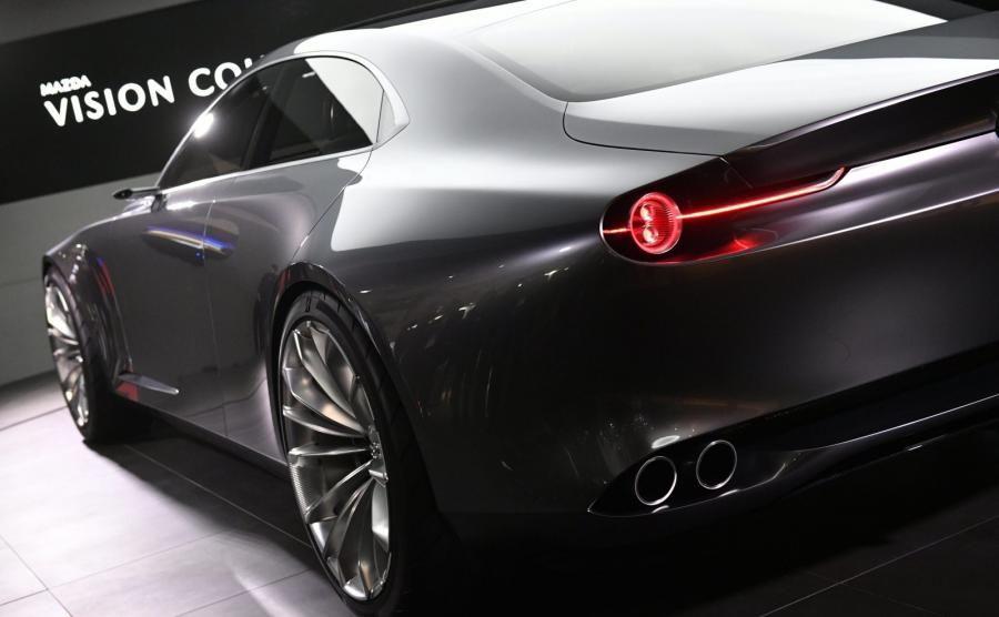Mazda Vision Coup Concept Rizsrakta Pinterest Mazda And Cars