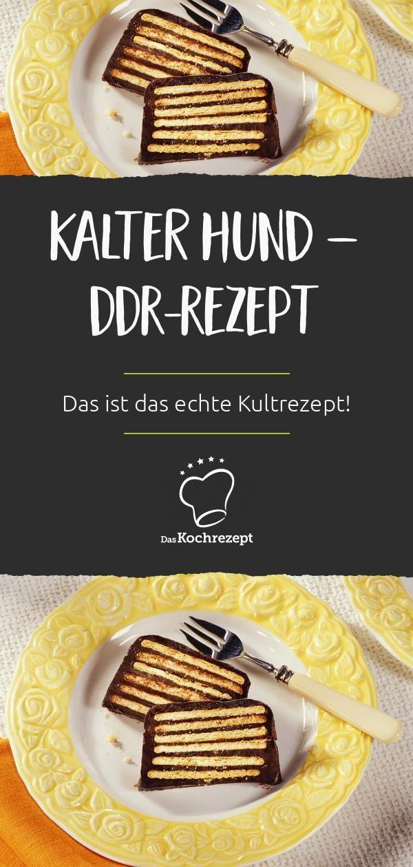 Kalter Hund – DDR-Rezept