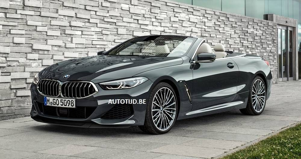 2019 Bmw 8 Series Convertible Uncovered Ahead Of Schedule 27 Images Bmw Series Bmw Classic Cars