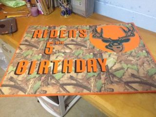 Hunting Yard Party sign