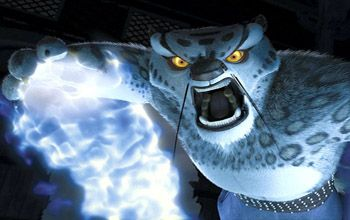 Tai Lung Snow Leopard And Master Kung Fu Villain In Kung Fu Panda Kung Fu Panda Villain Cartoon Cat