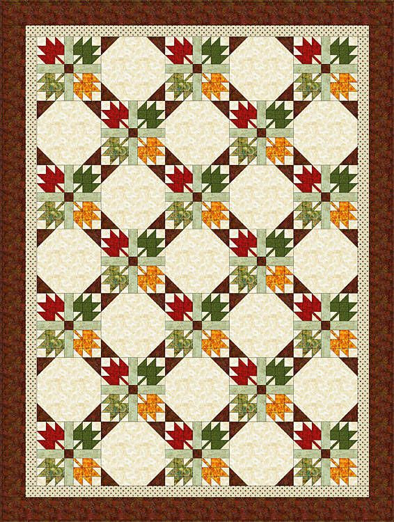 Free Quilt Patterns for Beginning to Experienced Quilters | Free ... : fall quilt patterns free - Adamdwight.com
