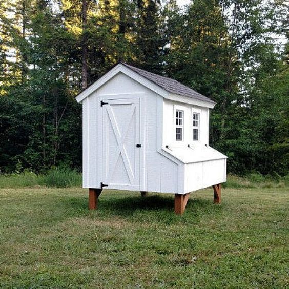 Easy Diy 4 X6 Chicken Coop Hen House Plans Pdf: Chicken Coop Plans - PDF File Instant Download