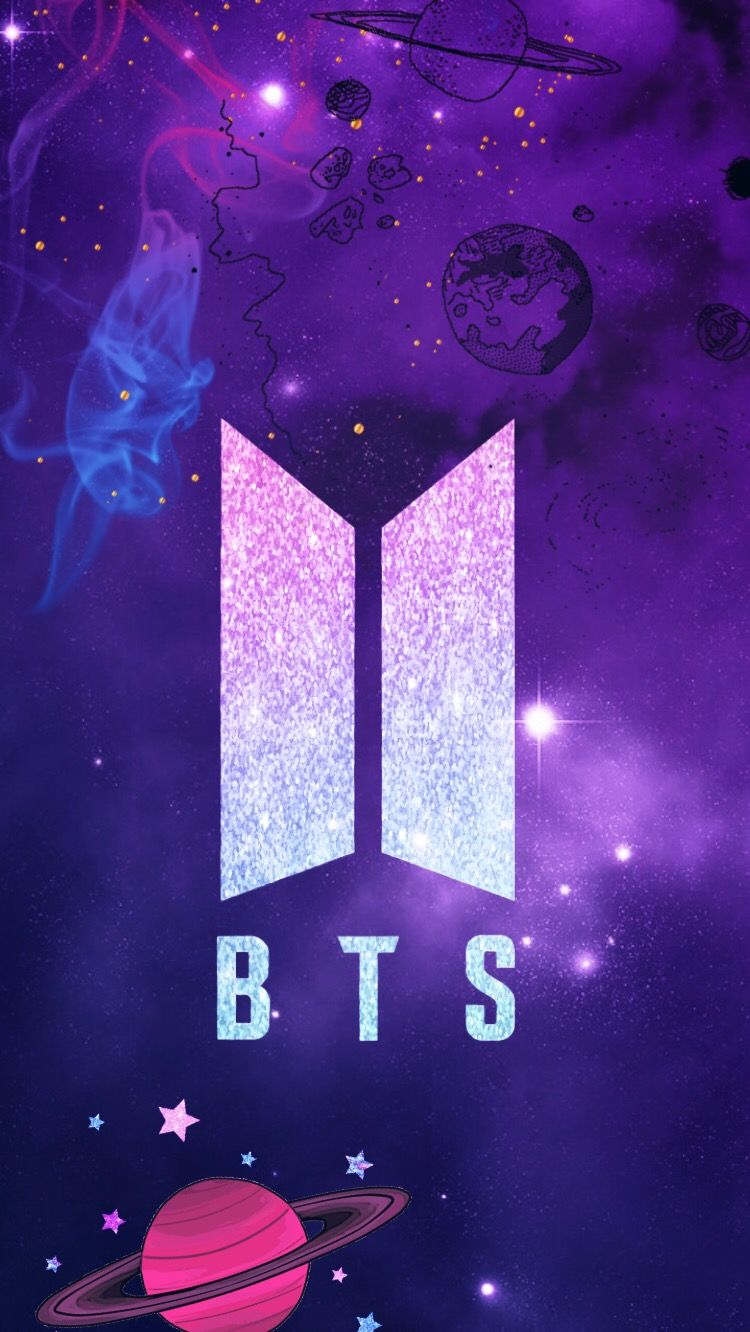 Discover The Coolest Freetoedit Remixed Bts Logo Wallpaper Galaxy Images Iphone Wallpaper Bts Wallpaper Bts Lockscreen
