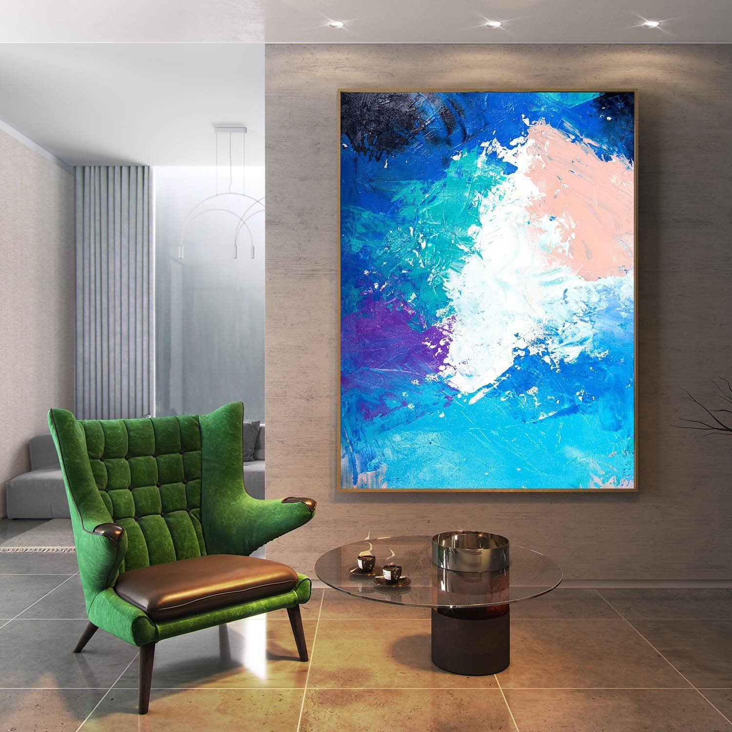 abstract painting master bedroom art living room textured on modern acrylic paintings for living room id=58805
