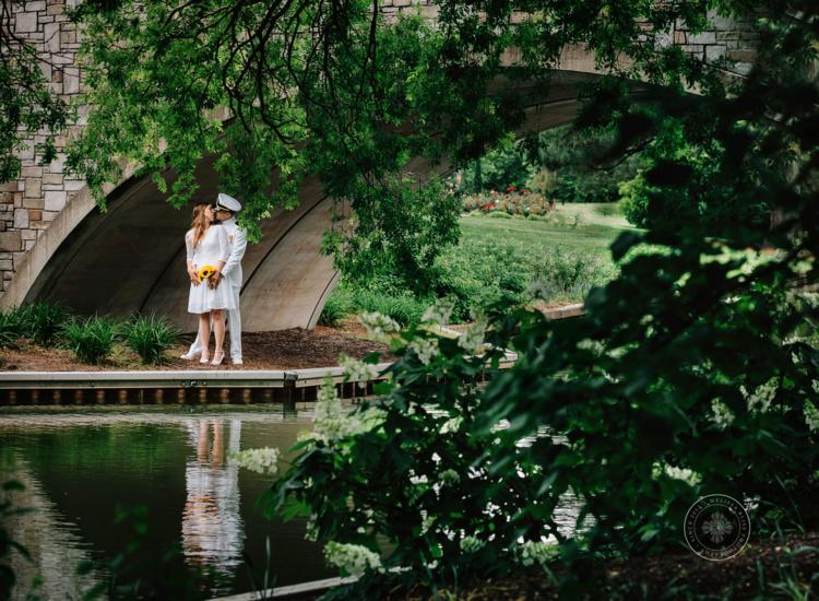 Elopement Photography At Norfolk Botanical Garden By Melissa Bliss Destination Wedding Photographer