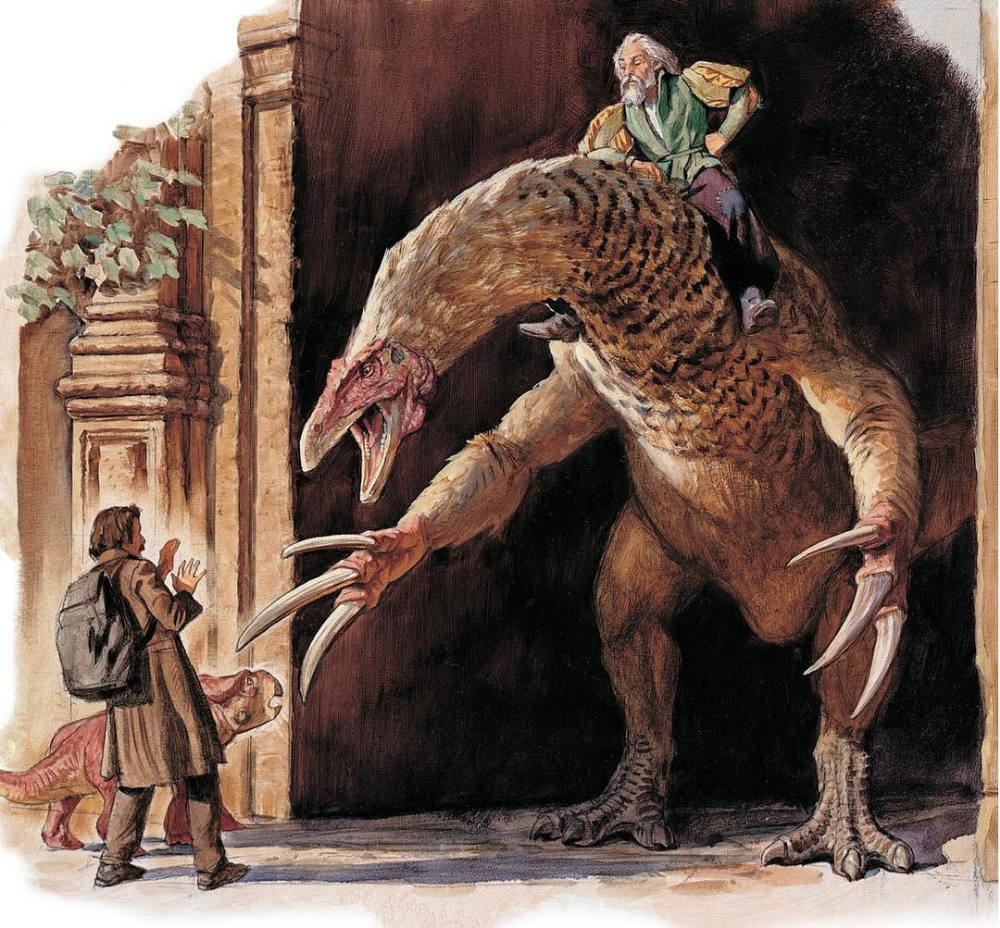 Dinotopia: The Fantastical Art Of James Gurney #dinosaurart