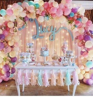 Diseos asombrosos de arcos de globos para cumpleaos Pinterest