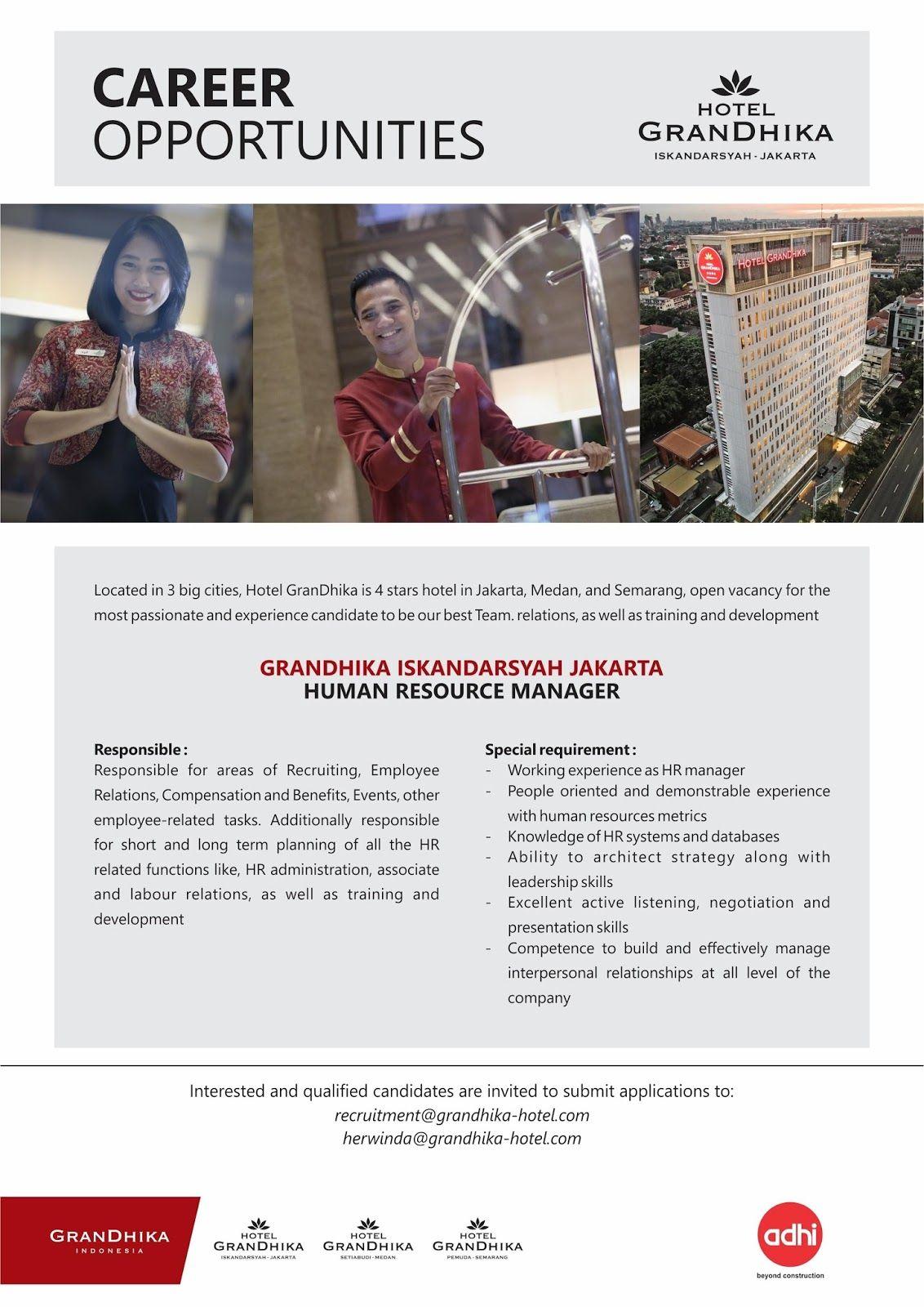 Grandhika Hotel Job News Dengan Gambar