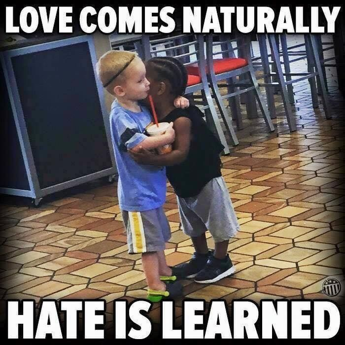 Love Comes Naturally Hate Is Learned Quotes Wise Words