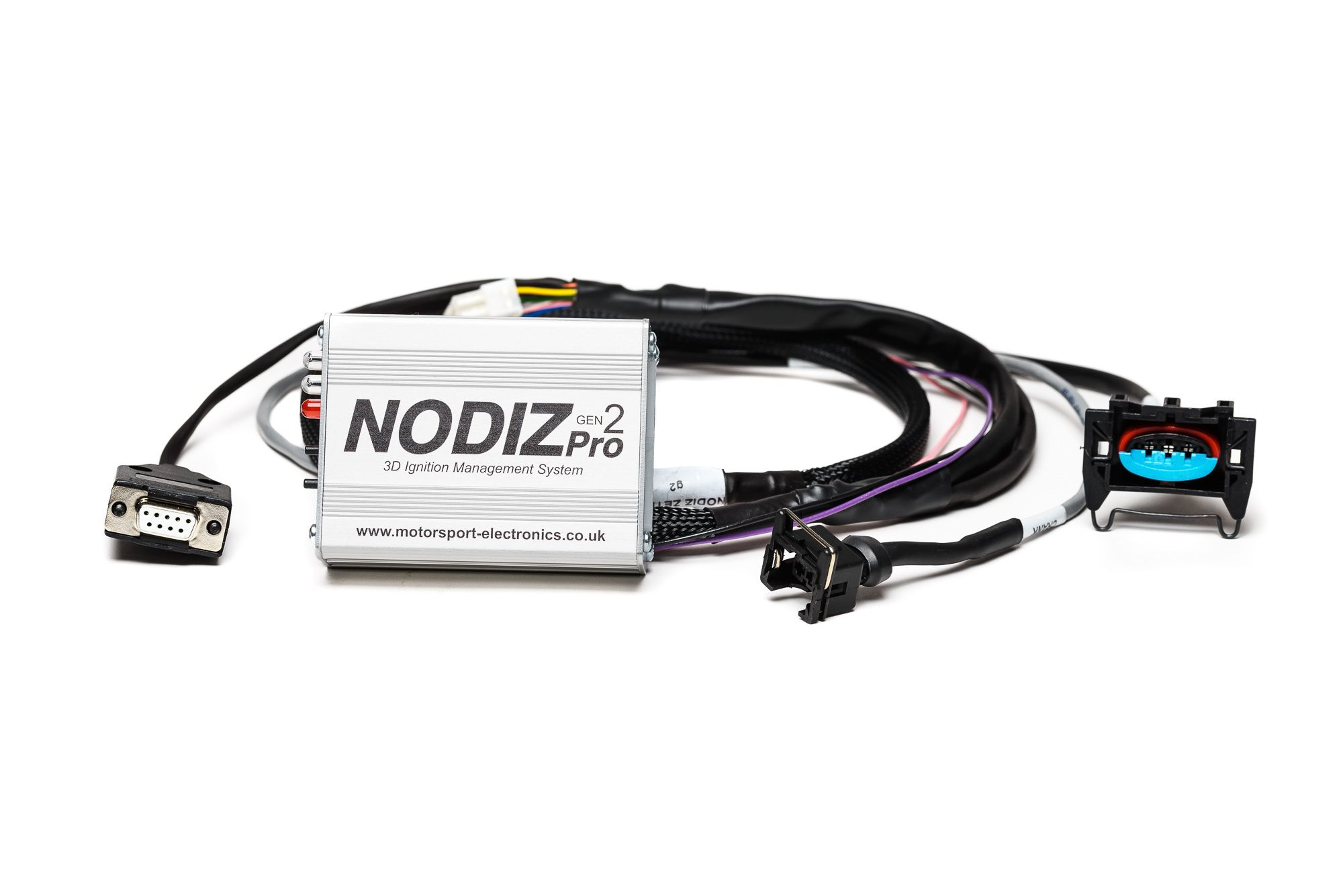Nodiz Pro With Ford Zetec Duratec Loom Digital Dashboard