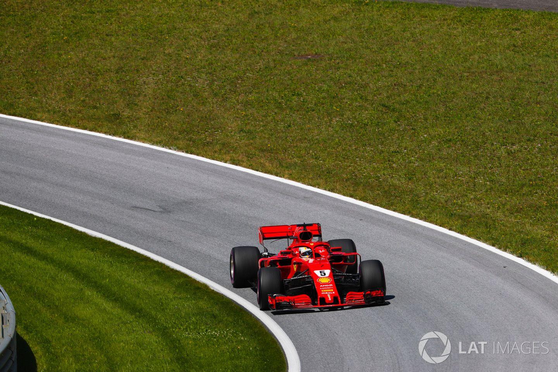 Sebastian Vettel at Red Bull ring Ferrari f1, Racing, Lat