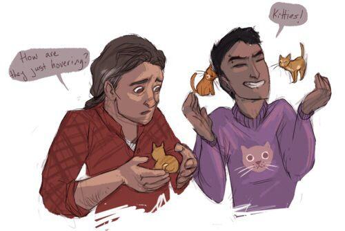 But, kitties, Carlos!