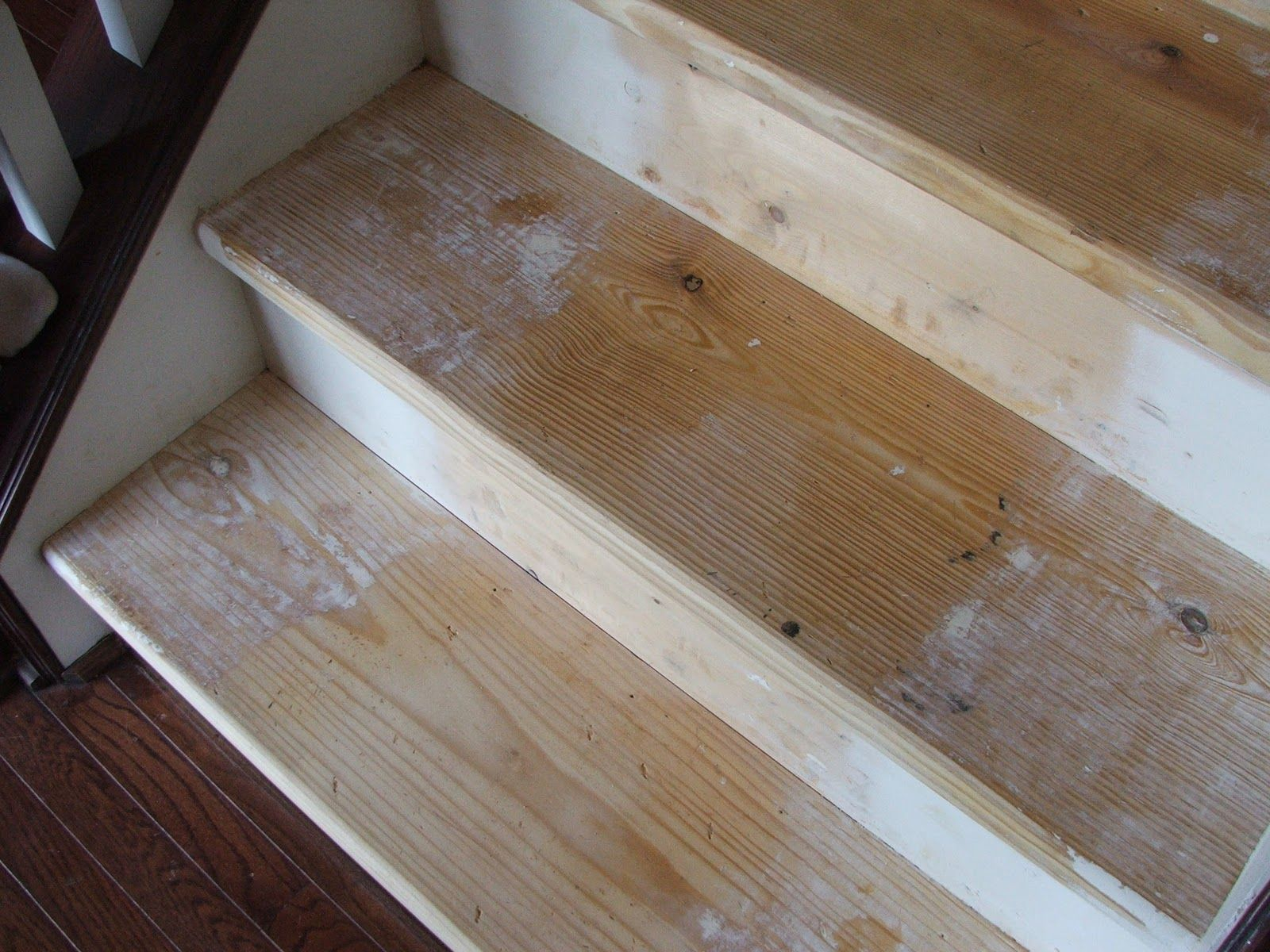 Best Under 100 Carpeted Stair To Wooden Tread Makeover Diy 640 x 480