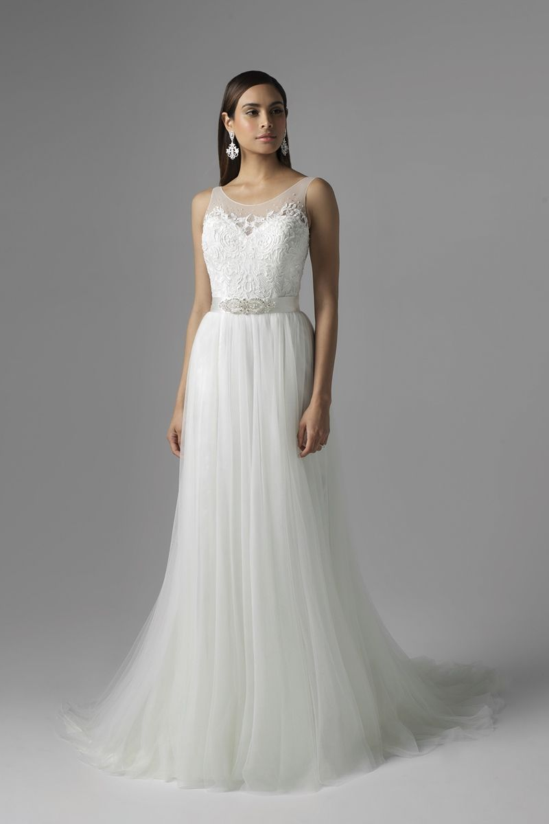 Wedding Dresses & Formal Gowns | White lace wedding dress, Lace ...