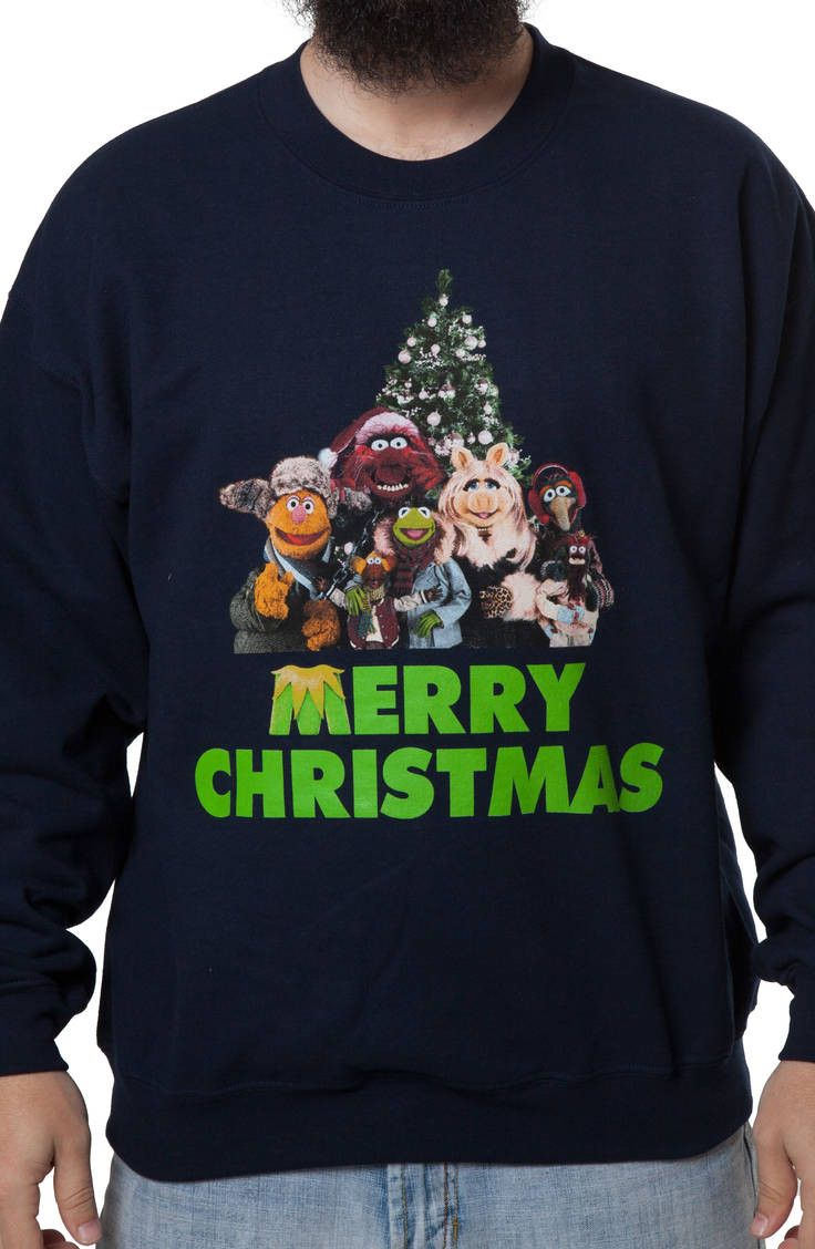 Muppets Christmas Faux Ugly Sweater | Misc. | Muppets christmas ...