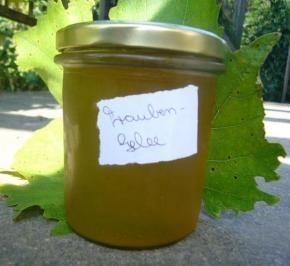 Traubengelee Leckeres Rp  für die vielen Trauben im Garten – Rezept mit Bild