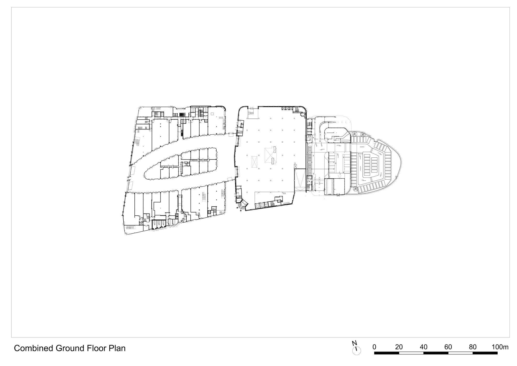 Image 43 of 81. 整合的一层平面图