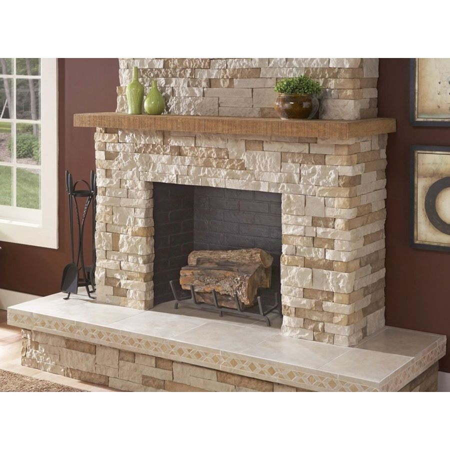 Shop Airstone 8 Sq Ft Autumn Mountain Faux Stone Veneer At Lowes