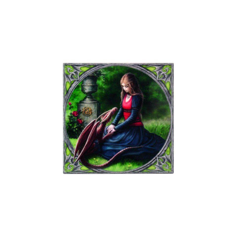 ANN STOKES Secret Garden Art Tile 4x4 99010 BY ACK